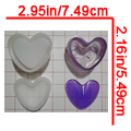 Heart-Shaped Container - $15.00 to $19.00