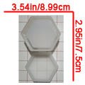 Hexagon Container - $25.00 to $29.00